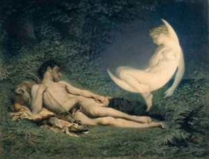 Victor Florence Pollet, Selene and Endymion, 1850-60 [https://sjwoccult.files.wordpress.com]